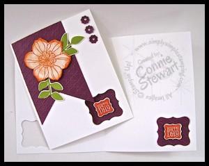 Secret Garden Happy Day Flash Card - www.SimplySimpleStamping.com