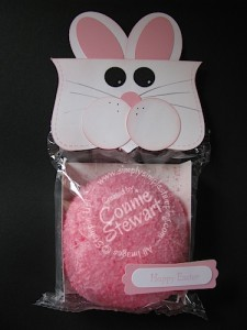 Pink Coconut Bunny - www.SimplySimpleStamping.com - Created by Connie Stewart