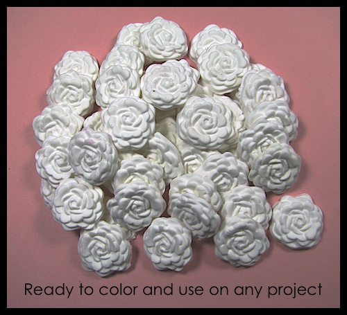 Simply Pressed Clay Blossoms