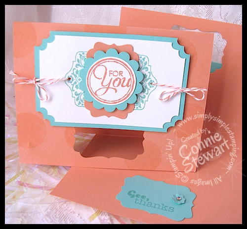 Flash Cards by Connie Stewart - www.SimplySimpleStamping.com