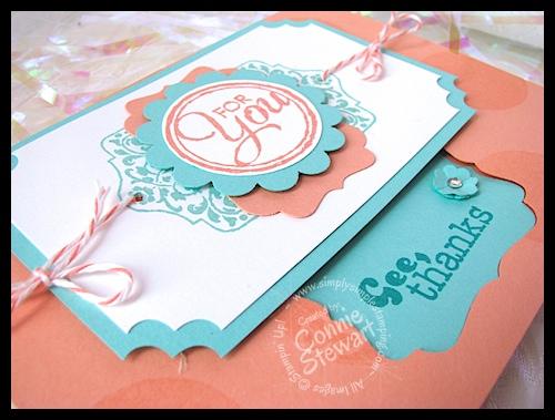 Flash Cards by Connie Stewart - www.SimplySimpleStamping.com
