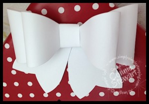 www.SimplySimpleStamping.com Bigz Gift Bow