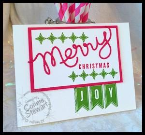 FLASH CARD - Retro Christmas - www.SimplySimpleStamping.com