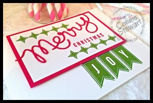 FLASH CARD - Retro Christmas - www.SimplySimpleStamping.com