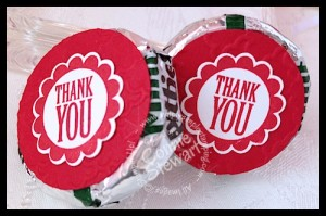 Thank You mints - www.SimplySimpleStamping.com