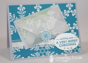 Gift Card Holder - Envelope Punch Board - www.SimplySimpleStamping.com