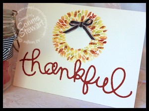 Thankful Flash Card 2.0 by Connie Stewart - www.SimplySimpleStamping.com