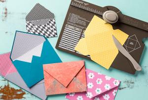 Envelope Punch Board - order at www.SimplySimpleStamping.com