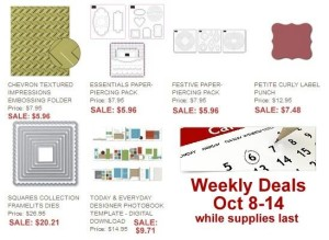 Weekly Specials from Stampin' Up - order at www.SimplySimpleStamping.com
