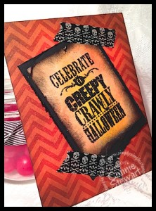 FLASH CARD - Halloween Bash - www.SimplySimpleStamping.com