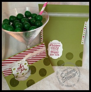 A Christmas card that will impress your Mother-in-law!  www.SimplySimpleStamping - Flash Card 2.0