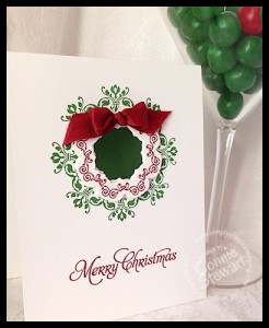 Flash Cards - Daydream Medallion Christmas - www.SimplySimpleStamping.com