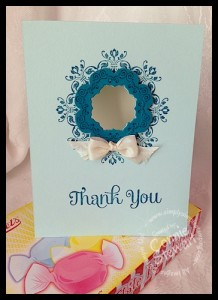 Flash Cards - Daydream Medallion Thank You - www.SimplySimpleStamping.com