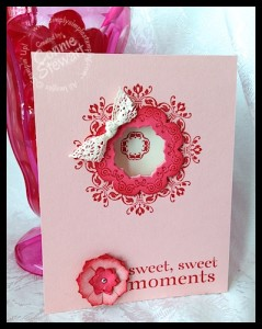 Flash Cards - Daydream Medallion Sweet Moments - www.SimplySimpleStamping.com