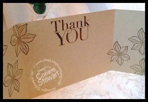 Stampin' Gals Gone Wild Wednesday - Four for One Cards - www.SimplySimpleStamping.com