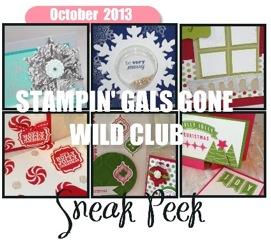 Sneak Peek Stampin' Gals Gone Wild - www.SimpleSimpleStamping.com