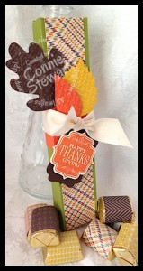 Give Thanks for Chocolate - www.SimplySimpleStamping.com