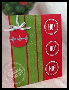 Video tutorial - FLASH CARDS 2.0 - Retro Ho Ho Ho card - www.SimplySimpleStamping.com