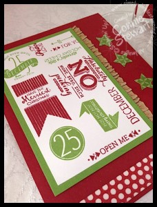 FLASH CARD - Subway Holiday - www.SimplySimpleStamping.com
