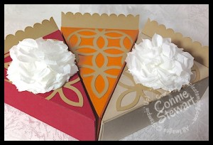 Cherry, Pumpkin, & Apple Pie - created by Connie Stewart - www.SimplySimpleStamping.com