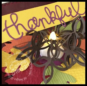 Thanksgiving Centerpiece - www.SimplySimpleStamping.com