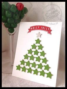 FLASH CARDS 2.0 - Holly Jolly Christmas Tree - www.SimplySimpleStamping.com