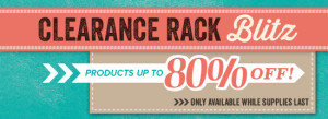 Clearance Rack Blitz - www.SimplySimpleStamping.com