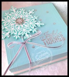 Gift box - www.SimplySimpleStamping.com