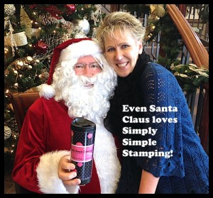 Even Santa Claus loves Simply Simple Stamping!