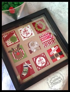 Christmas 2x2 Framed Art - www.SimplySimpleStamping.com