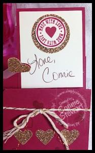 Label Card Thinlit Stair Step Valentine - www.SimplySimpleStamping.com