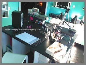 Craft Room Makeover - www.SimplySimplyStamping.com