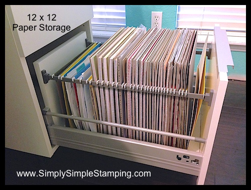Connie Shows Off Her Drawers Oh My Simply Simple Stamping
