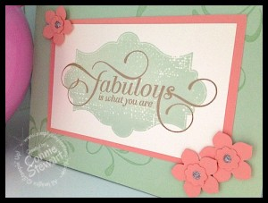 FLASH CARD - Fabulous Everything Eleanor - www.SimplySimpleStamping.com