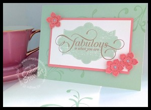 FLASH CARD VIDEO TUTORIAL - Fabulous Everything Eleanor - www.SimplySimpleStamping.com