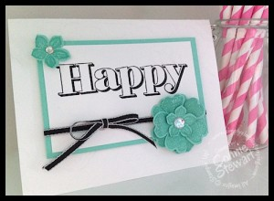 HAPPY Flash Card - Countless Saying II - www.SimplySimpleStamping.com
