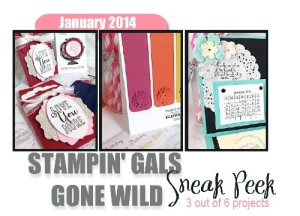 Stampin' Gals Gone Wild Tutorial of the Month - learn how to get yours FREE at www.SimplySimpleStamping.com