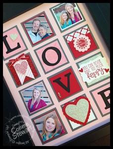 LOVE Frame - www.SimplySimpleStamping.com