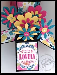 Pop-Up Box Card - www.SimplySimpleStamping.com - created by Connie Stewart