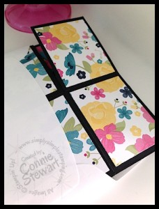 Pop-Up Box Card (Fits in a Medium envelope) - www.SimplySimpleStamping.com - created by Connie Stewart
