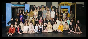 """Thoroughly Modern Millie"" cast Moore High School March, 2014"