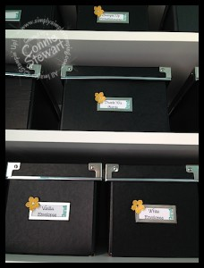 Labels for IKEA Kassett Boxes - www.SimplySimpleStamping.com