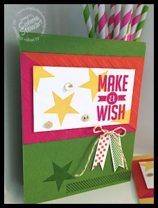 Two for One FLASH CARDS - www.SimplySimpleStamping.com - Created By Connie Stewart