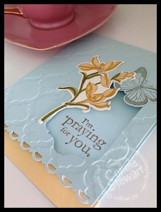 FLASH CARDS - Praying for You - www.SimplySimpleStamping.com - Created by Connie Stewart
