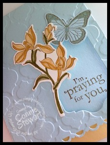 Flash Cards - Praying for You - www.SimplySimpleStamping.com - Created by Connie Stewart (video tutorial available)