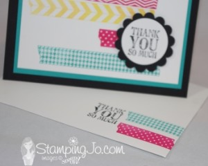 Stampin' Gals Gone Wild Wednesday FREE VIDEO TUTORIAL - www.SimplySimpleStamping.com