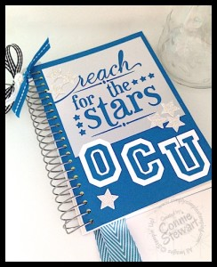 OCU notebook - www.SimplySimpleStamping.com - created by Connie Stewart