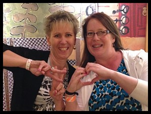 Connie Stewart & Wendy Nix LOVE the new hashtag stamp sets in the new Stampin' Up catalog - www.SimplySimpleStamping.com