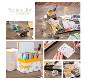 Project Life coming to Stampin' Up and www.SimplySimpleStamping.com May 1, 2014!!