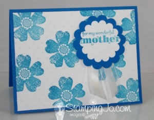 Stampin' Gals Gone Wild Wednesday Freebie video tutorial - www.SimplySimpleStamping.com